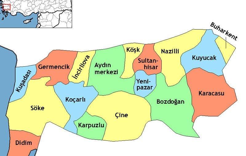 Karacasu Coğrafi Yapısı